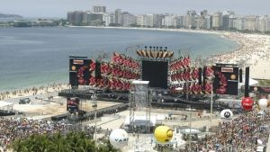 Le concert des Rolling Stones  Rio photo