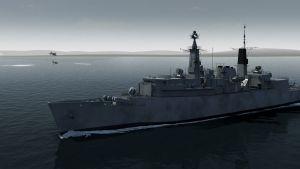 A HMS Coventry tragédiája fotó