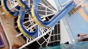 Costa Concordia: Ett år etter Bilde