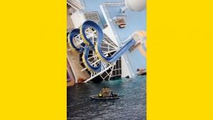 Costa Concordia fanget på film Billed