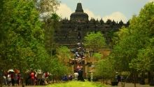 Faszination Asien: Die Tempelanlage von Borobudur Programm