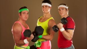 Spandex, Leg Warmers and Head Bands photo
