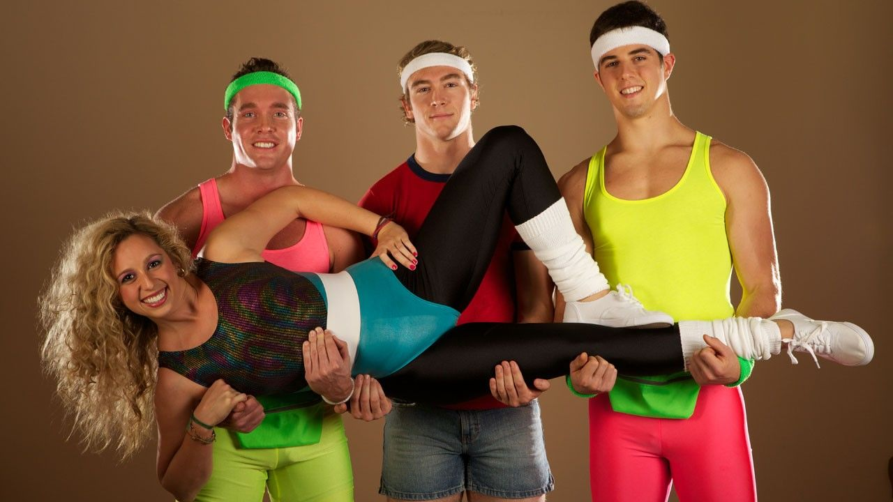 80s workout clothes for women