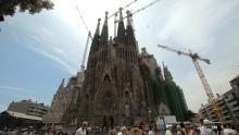 Sagrada Familia show