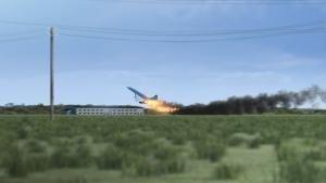 الكونكورد تحترق صورة
