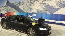Audi A8 show