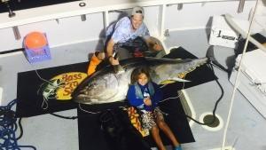 سمكة التونة العنيدة صورة
