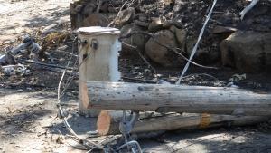 حريق كاليفورنيا صورة