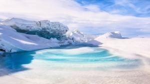 Storming Antarctica photo
