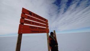 اكتشاف قارة أنتاركتيكا صورة