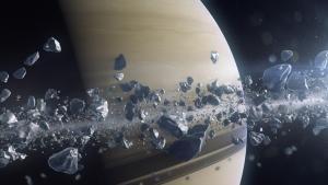 زحل: داخل حلقات الكوكب صورة