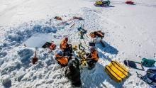 Storming Antartica show