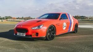 Le Mans Maserati photo