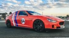سيارة المازاراتي في سباق لومان برنامج