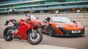 McLaren P1 Hyperbike photo