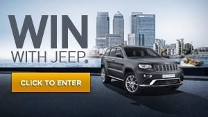 Win with the Jeep® Grand Cherokee