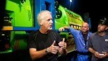 James Cameron: Voyage to the Bottom of the Earth show