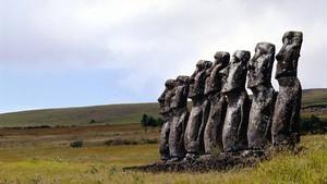 Beneath Easter Island