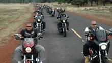 Outlaw Bikers show