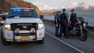 Aljaški policisti
