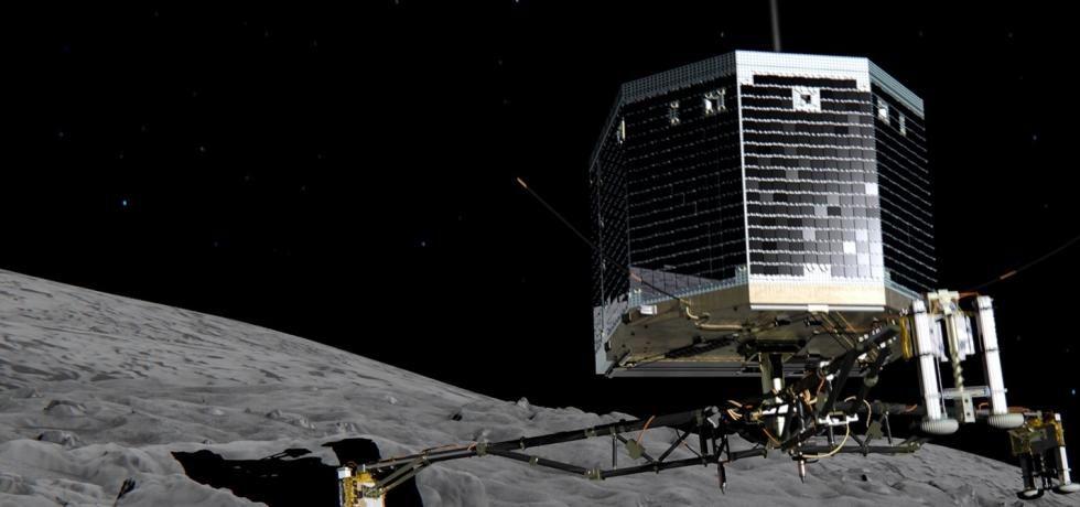 Comet Catcher: The Rosetta Landing