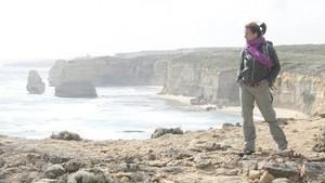 Auf dem Great Ocean Walk mit Katarina Witt