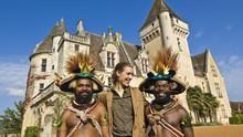 Zwei Häuptlinge in Frankreich Programm