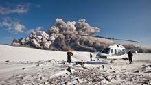 Vulkánkitörés Izlandon film