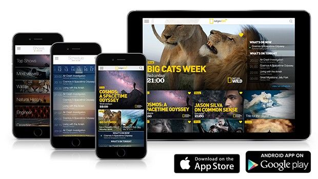 Download the Nat Geo TV app - National Geographic Channel - Asia