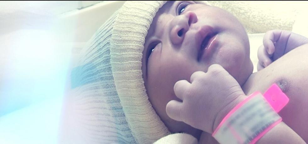 Reparto maternità nel mondo 2