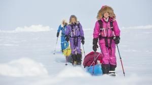 少女的北極遠征 節目