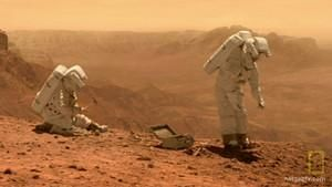 Život na Marsu .