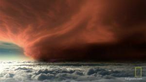 Crvena mrlja fotografija