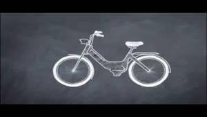 Moped na zračni pogon .