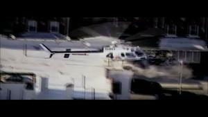 Indestrutíveis Promo: Acidente de helicóptero fotografia