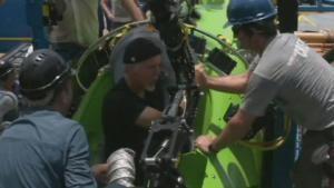 Merülés James Cameronnal fotó