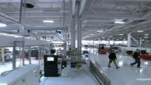 Brand New Tesla Factory show