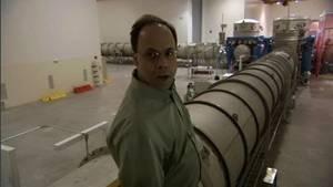 Joseph Giaime am LIGO Foto