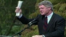 Los 90, Bill Clinton Serie