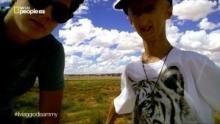 Sammy in territorio Navajos programma
