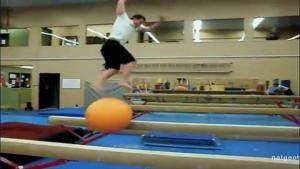 Balancing On A Ball photo