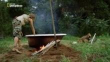 Come prepararsi un bagno caldo all'aria aperta programma