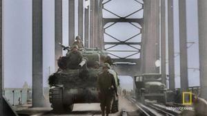 Crossing the Rhine photo