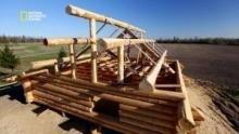 Fabrication de la structure d'un chalet en bois Voir la fiche programme