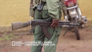 La guerra dell'avorio lunedì 28 settembre alle 21.55 foto