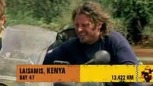 Van Kenia naar Rwanda  Programma