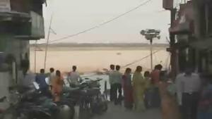 De rivier de Ganges Foto
