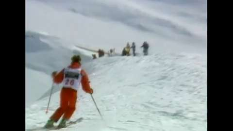 Skier Free Falls