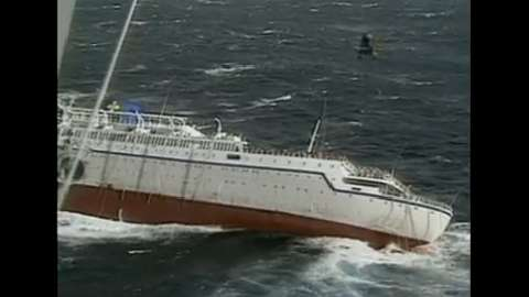 Sinking Cruise Ship